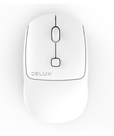 MOUSE INALAMBRICO DELUX M320GX WHITE 2.4