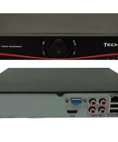 DVR 16 CANALES 720PC/CANAL 1080P TECHVIEW  TV-NVR16IP