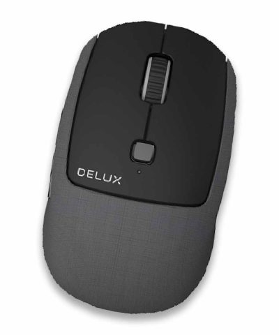 MOUSE INALAMBRICO DELUX M520S-GX BLACK 2.4GHZ